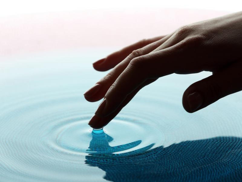 Water treatment of hard water